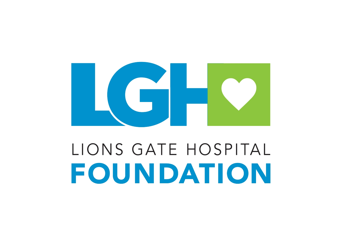 Logo lions gate hospital foundation